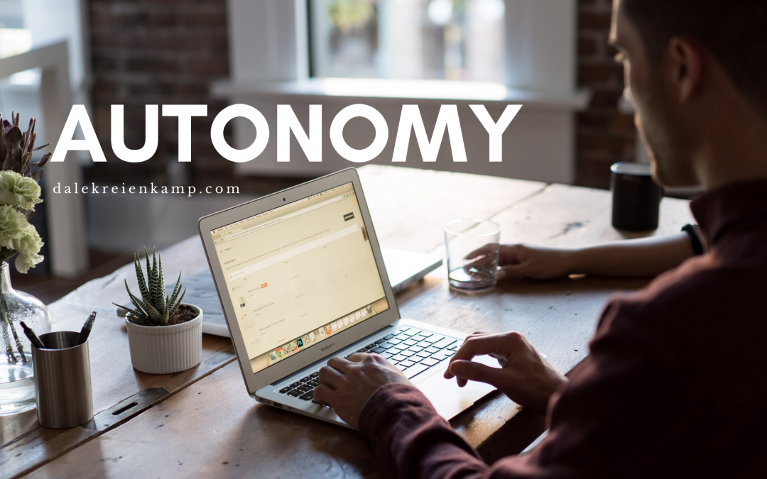 The Importance of Autonomy