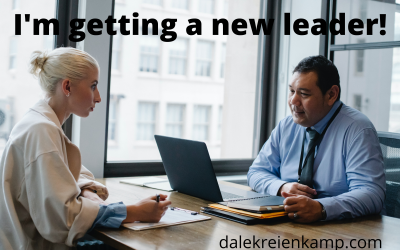I'm getting a new leader!